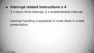 PicoBlaze - Instruction Set and Application