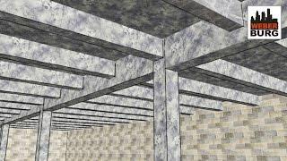 BC: Монолитное ребристое перекрытие(Показана компоновка, конструктивная схема, расчет монолитного перекрытия. Объясняется построение и смысл..., 2015-04-02T05:48:22.000Z)