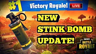 New Stink Bombs Update New Skins? Fortnite Update Tonight Fortnite Battle Royale Road To 2.9K