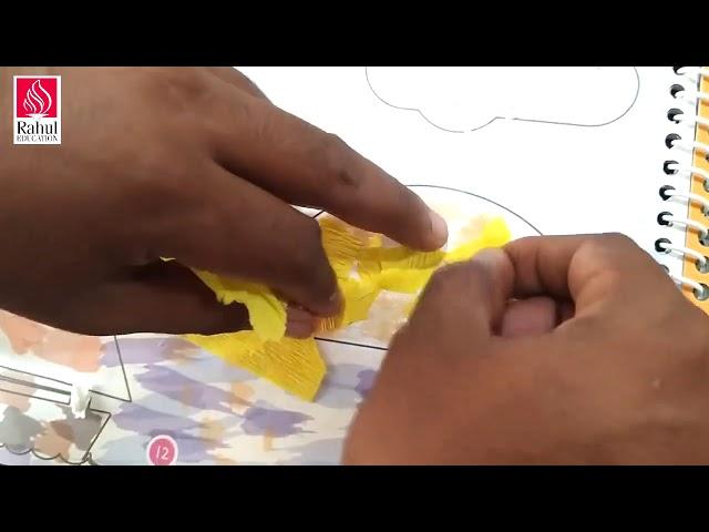 Digital Art & Craft Classes for Learners Grade- I   Activity- 10   Texture- Claude Monet