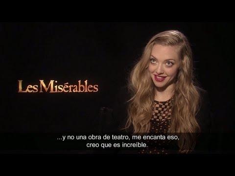 Entrevista Russel Crowe y Amanda Seyfried - Los Miserables (HD)