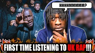 US Rapper Reacts to UK Rap ! |  Stormzy - Vossi Bop