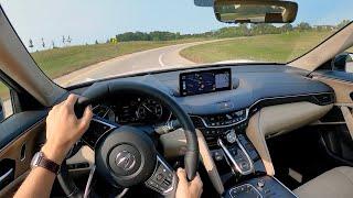 2021 Acura TLX Advance SH-AWD - POV First Impressions