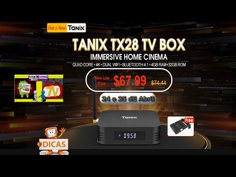 Tanix TX28 TV Box = RAM: 4G - ROM: 32G = Android 7.1 = quad-core ARM Cortex-A53 processer