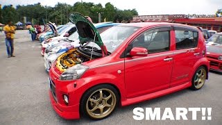 The Beautiful Red Toyota Passo Turbo Modified | 10th Anniversary KeicarMania 2016