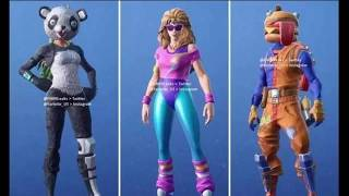 Leaked skins in fortnite battle royal