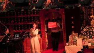 平成26年8月24日に常光円満寺で行われた地蔵尊大法要の後のお歌の...