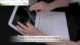 Screen Protector Dust Removal and Restoration