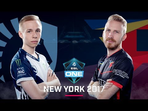 CS:GO - Team Liquid vs. FaZe [Mirage] Map 3 - Grand Final - ESL One New York 2017