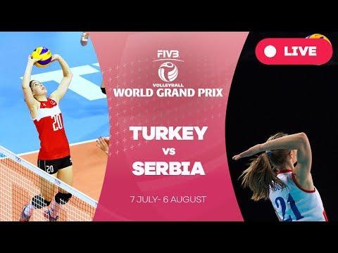 Turkey v Serbia - Group 1: 2017 FIVB Volleyball World Grand Prix
