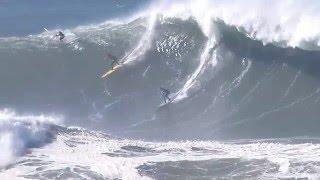 Big waves surfing: California surfers hit huge El Niño waves at Mavericks