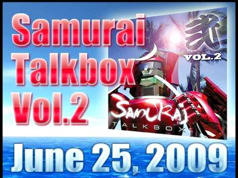 Samurai Talkbox Vol.2 Snippet - part1 サムライ  トークボックス