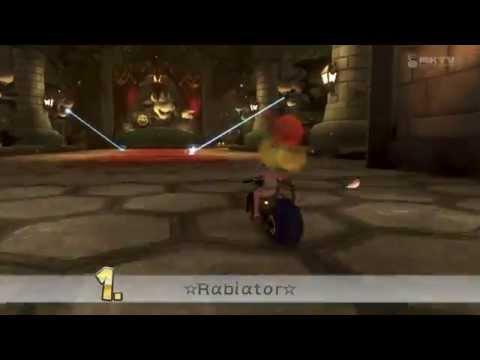 Wii U - Mario Kart 8 - Bowsers Festung