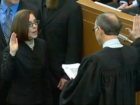 Kate Brown Sworn in As Oregon Governor