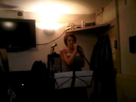 Kayleigh Sings at Open Mic Night