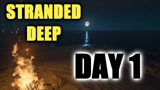 DAY 1 ★ Stranded Deep ★ - BEACHED BEGINNING - Mr Blackout