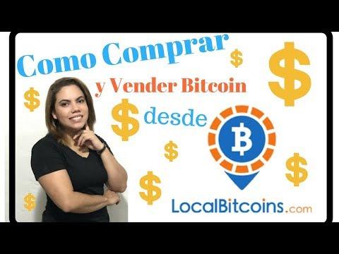 Como Comprar y Vender Bitcoin desde LocalBitcoins