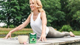 Exercice de yoga pour une énergie verte