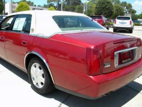 2004 Cadillac Deville Leather Faux Top Loaded Youtube