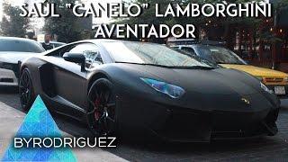 Canelo en su Lamborghini Aventador | ByRodriguez