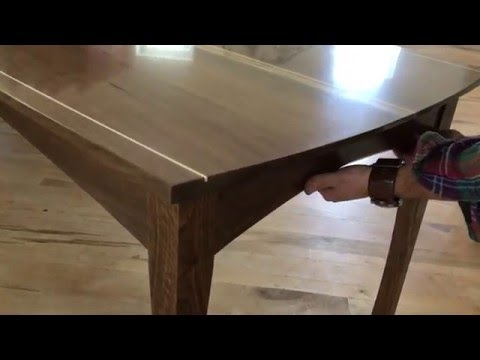 Qline Dining Table With Secret Hidden Compartments Youtube