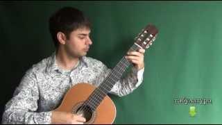 ЦЫГАНОЧКА на Гитаре - ВИДЕО УРОК 4-1/7. Как играть на гитаре