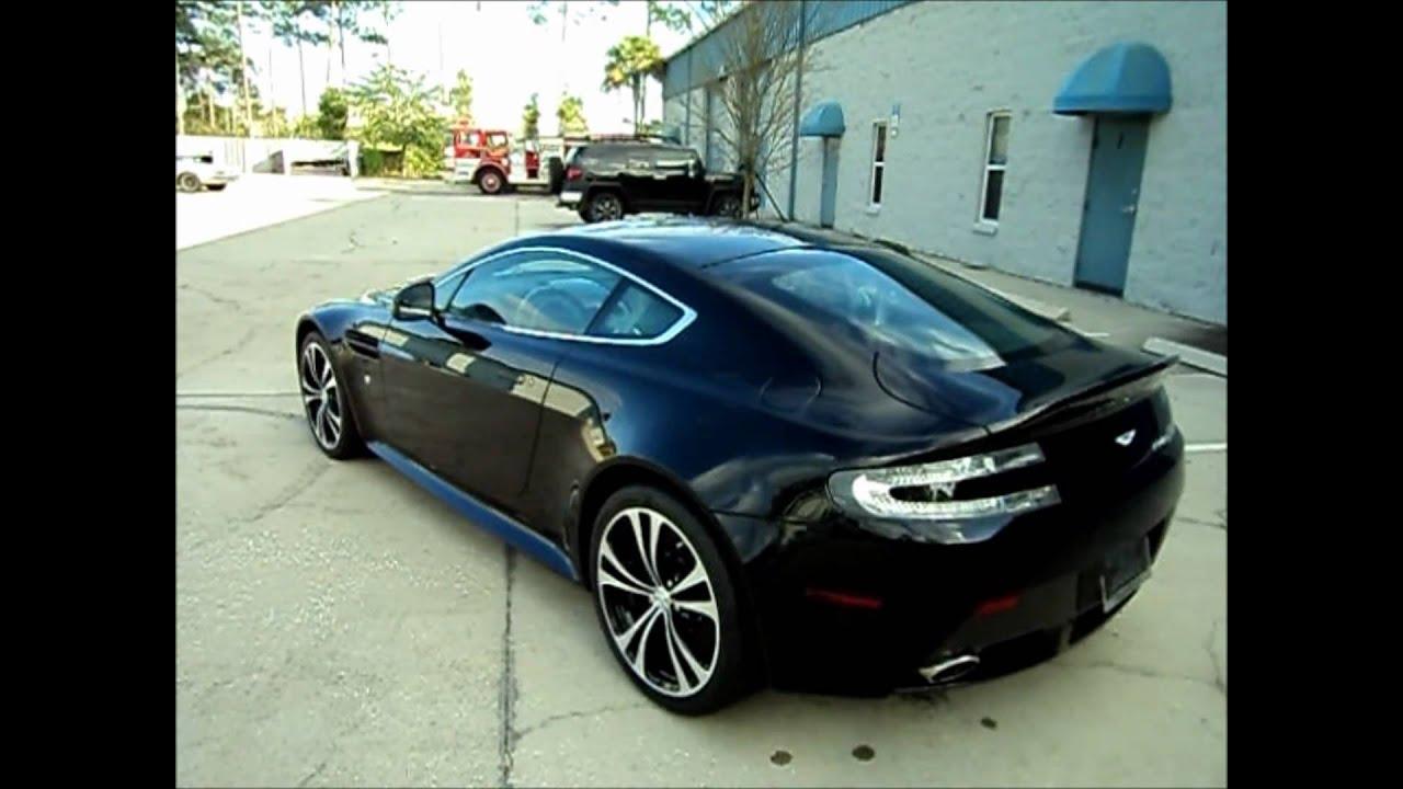 Aston Martin V12 Vantage Carbon Black 1 - YouTube