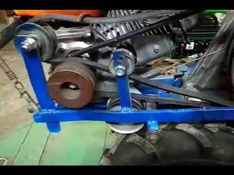 Мотоблок НЕВА. Смещение двигателя вперёд для баланса. Удлинение рамы МБ.