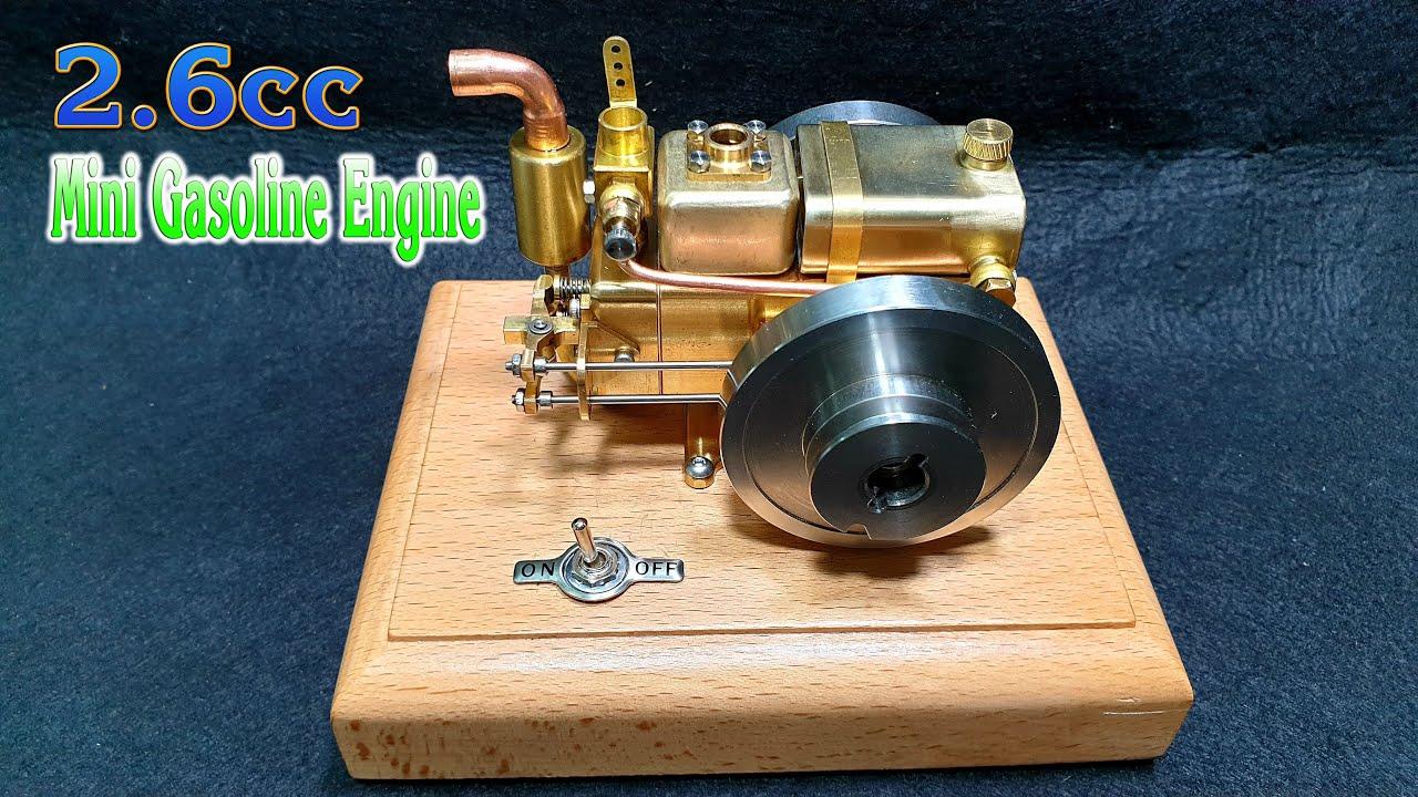 Mini Gasoline Engine 2.6cc Water cooled