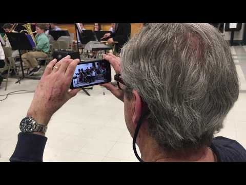 Video: At Spofford Pond School in Boxford, student musicians and singers perform for seniors