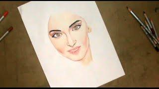 How To Draw Sonam Kapoor