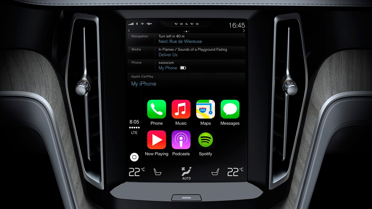 interface apple carplay in chevrolet spark 2016 youtube. Black Bedroom Furniture Sets. Home Design Ideas