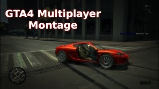 GTA4 - Multiplayer Montage - Free Mode - PC