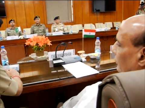 Delegation of Pakistani Rangers meets Indian Interior Minister