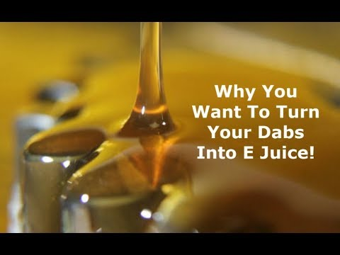 How To Turn Dabs Into Ejuice For Your Vape Pen