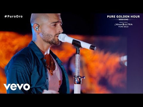 Maluma – Hawái (Live From Michelob ULTRA Pure Golden Hour Sessions)