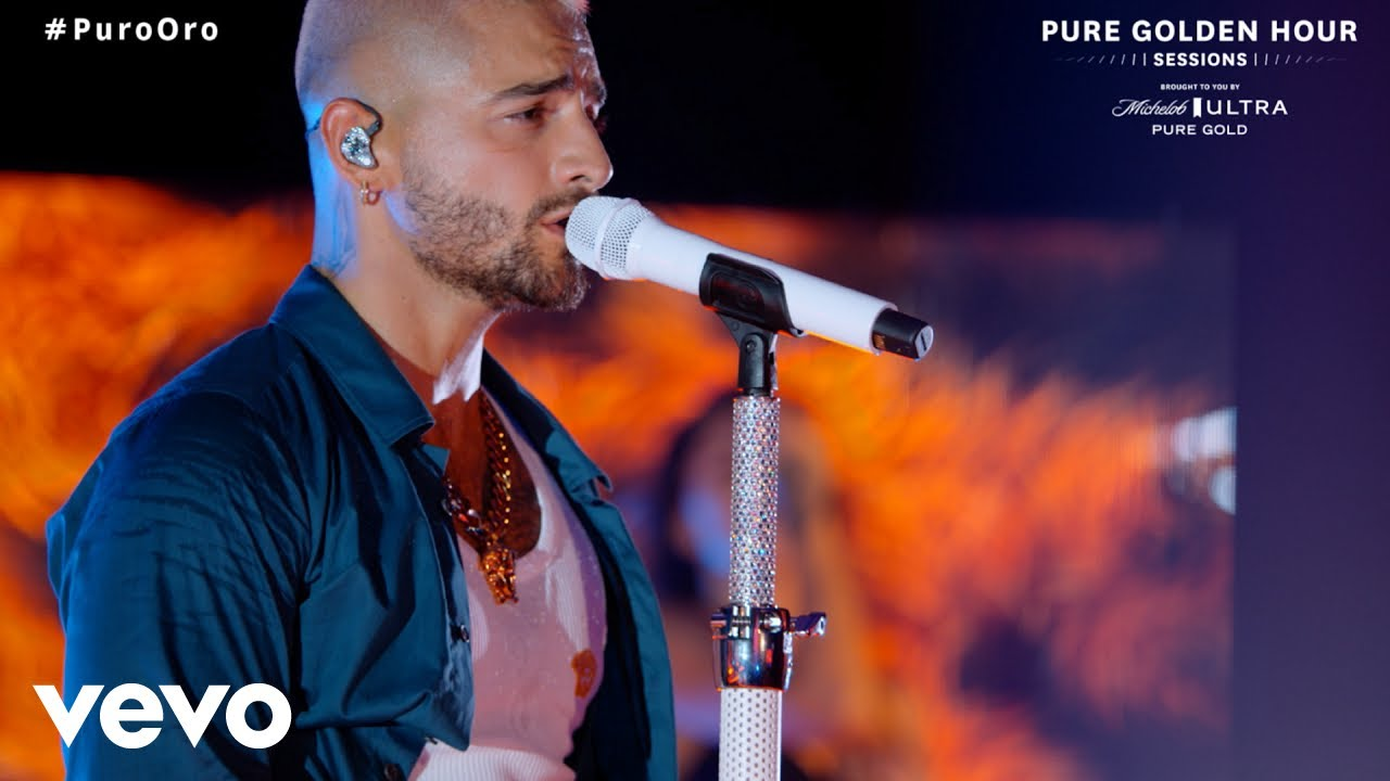 Maluma - Hawái (Live From Michelob ULTRA Pure Golden Hour Sessions)