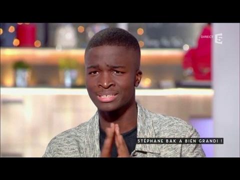Stéphane Bak is Back - C à vous - 25/01/2017