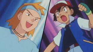 Ash vs. Morty! | Pokémon: Johto League Champions | Official Clip