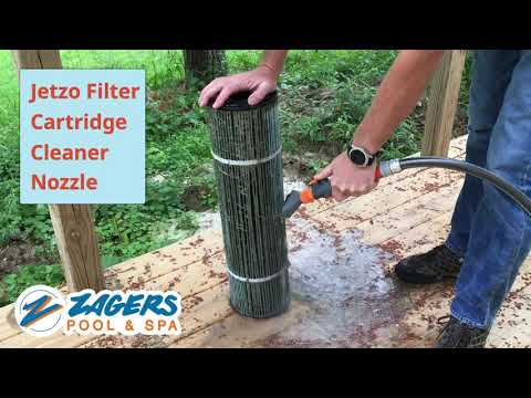 JETZO FILTER CARTRIDGE CLEANING NOZZLE