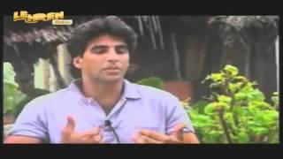 Akshay Kumar's Rare Old Interview - Akshay Kumar Portal