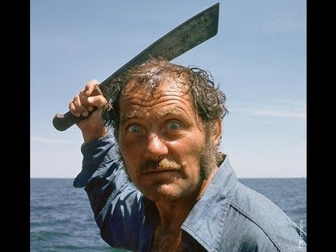 "Tension Between Richard Dreyfuss and Robert Shaw in ""JAWS"""