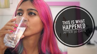 I Had Water on Empty Stomach for 30 Days - This Happened! _ SuperWowStyle #Beauty Experiments