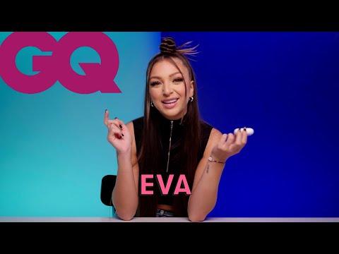 Youtube: Les 10 Essentiels d'Eva (maquillage, parfum et brosse à dents) | GQ