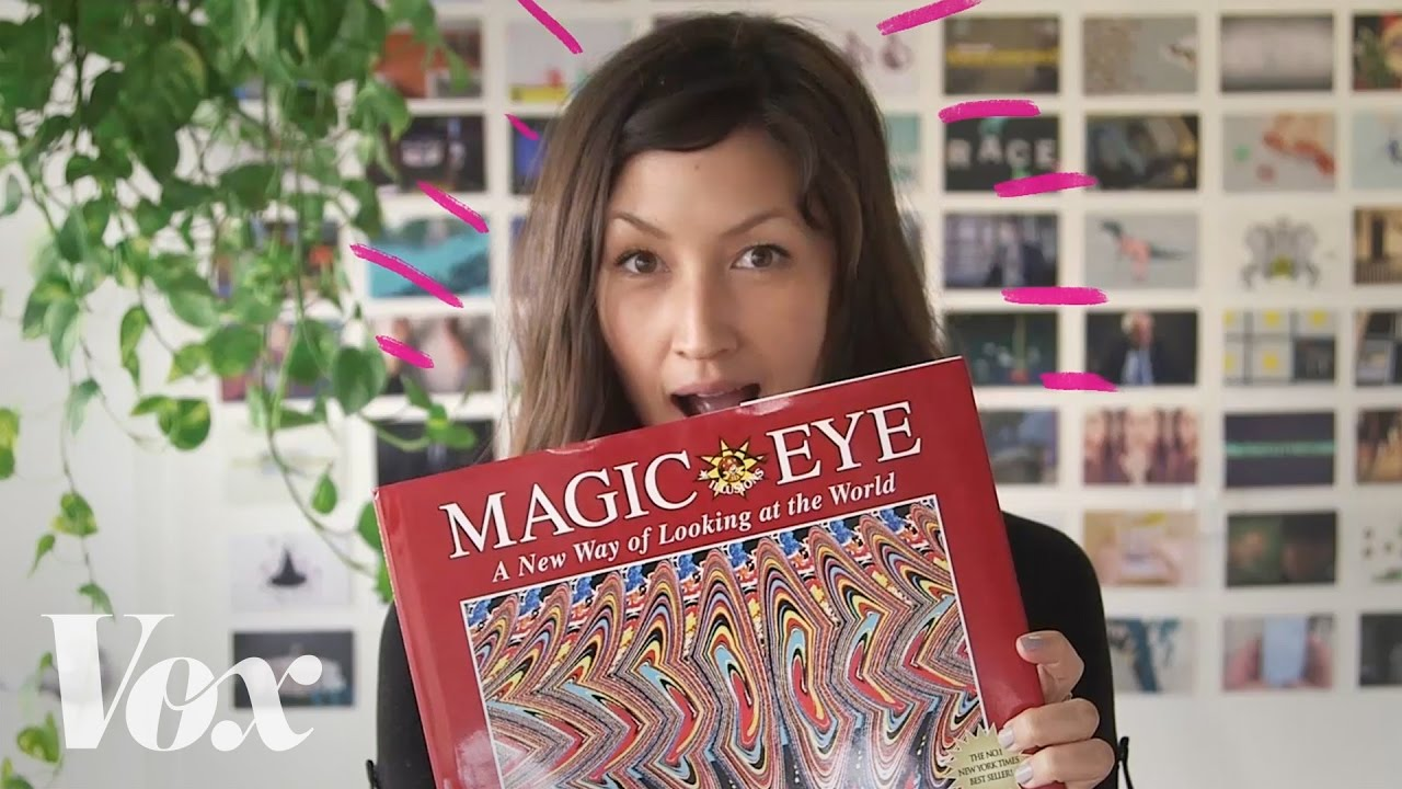 Magic Eye  The optical illusion  explained   YouTube