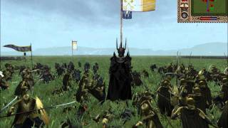 Hey guys this is are battle of the last alliance aginst mordor real...
