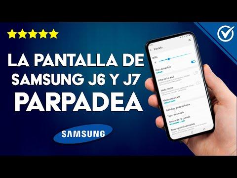 ¿Por qué la Pantalla de mi Samsung J5 y J7 Parpadea Cuando se le baja el Brillo? - Solución