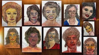 Serial Killer Sketches Alleged Victims From Memory