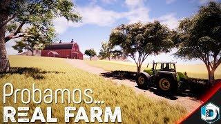 Probamos... Real Farm   Nuevo Simulador de granjas   Gameplay Español screenshot 3