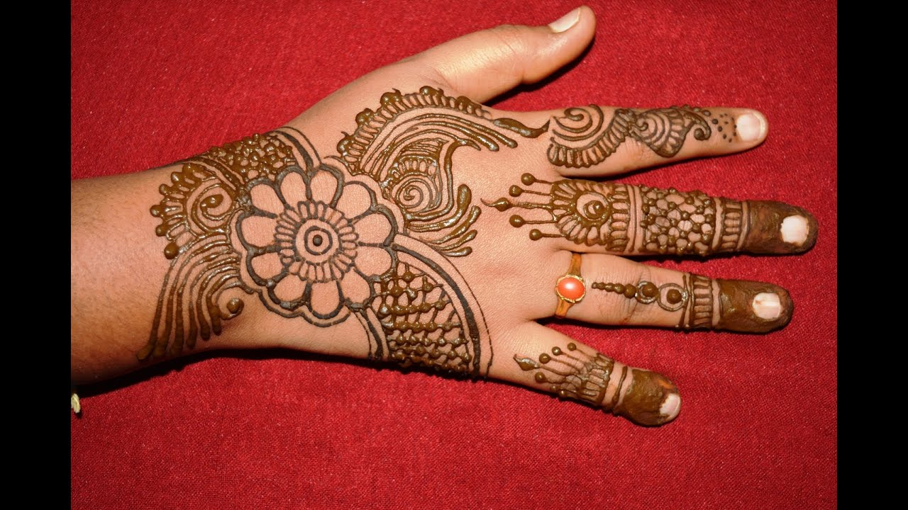 Simple Easy Henna Mehndi Designs For Hands Matroj Mehndi Designs